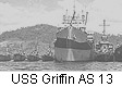 USS Griffin AS 13