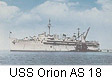 USS Orion AS 18