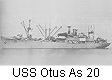 USS Otus AS 20