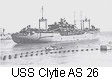 USS Clytie AS 26