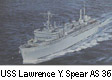 USS Lawrence Y. Spear AS 36